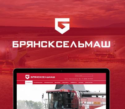 Web-cайт для ЗАО СП «Брянсксельмаш»