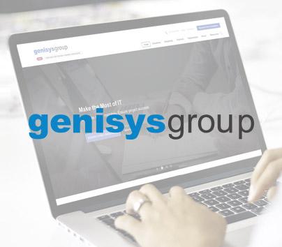 Web-сайт для «Genisys Group»