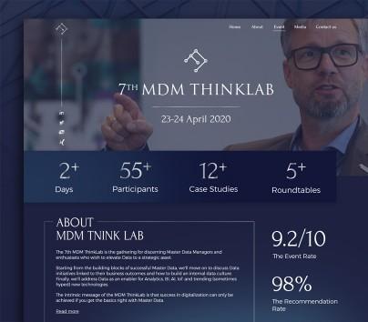 Корпоративный сайт «Think Linkers»