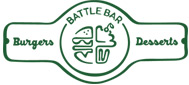 Разработка логотипа и дизайн интерьера для кафе «Battle Bar»